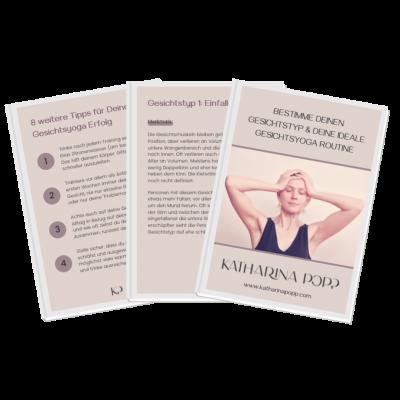 Gratis Gesichtsyoga Guide: Gesichtstyp & Gesichtsyoga Routine bestimmen